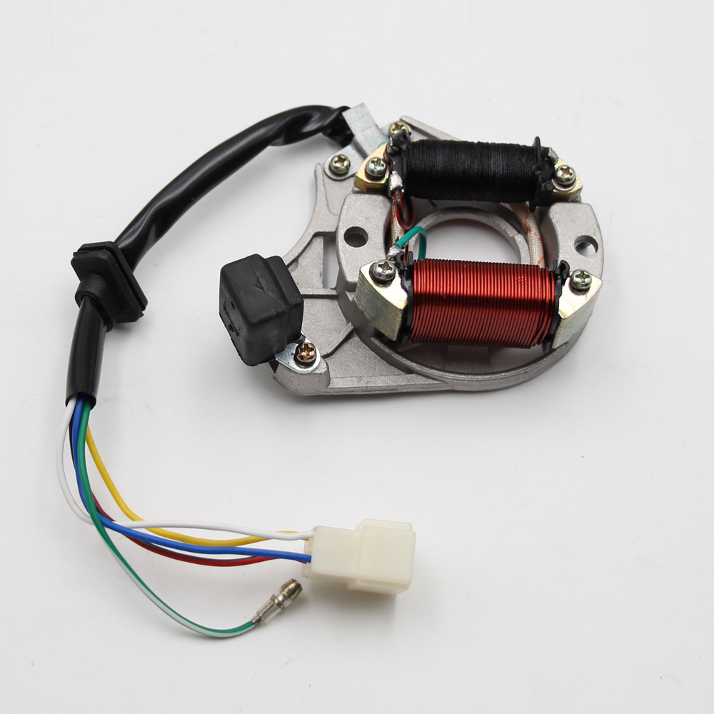 Zündung Stator Magneto Platte für Chinesische 50cc 110cc 125CC ATV Quad 2 Spulen NEUE