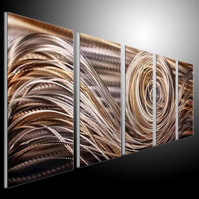 Metal Modern Abstract Wall Art Painting abstract METAL wall Art ...