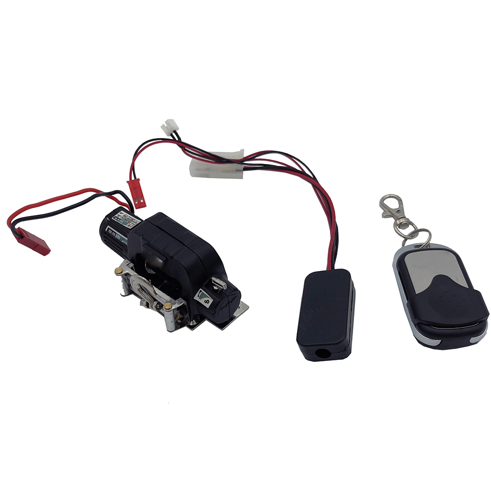 RC Crawler Car Winch Wireless Remote Control Receiver for 1:10 Traxxas Hsp SCX10 RC Car  ...