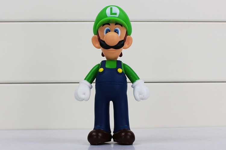 4pcs/lot 13cm Super Mario Bros Luigi Mario PVC Action Figure Toy Doll Cute Gifts For Children Kid 6