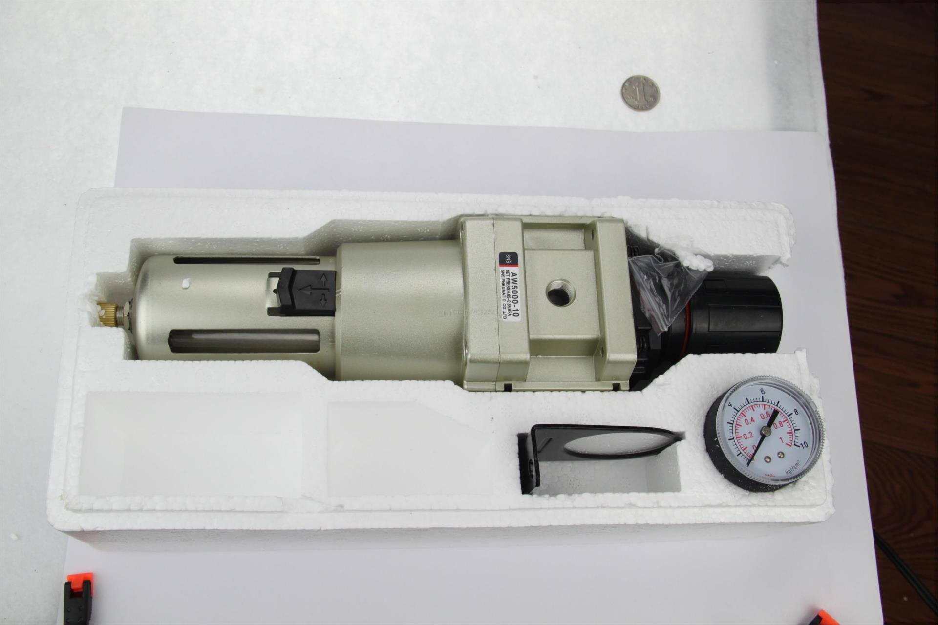 AW5000-10A 1''BSPT régulateur filtre SNS composant pneumatique SMC type compresseur traitement de l'air cuivre drain