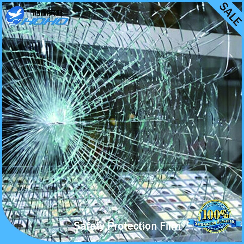 12mil Security Safety window film 0.3mm/12mil 33ft/10m length 5ft/1.52m width