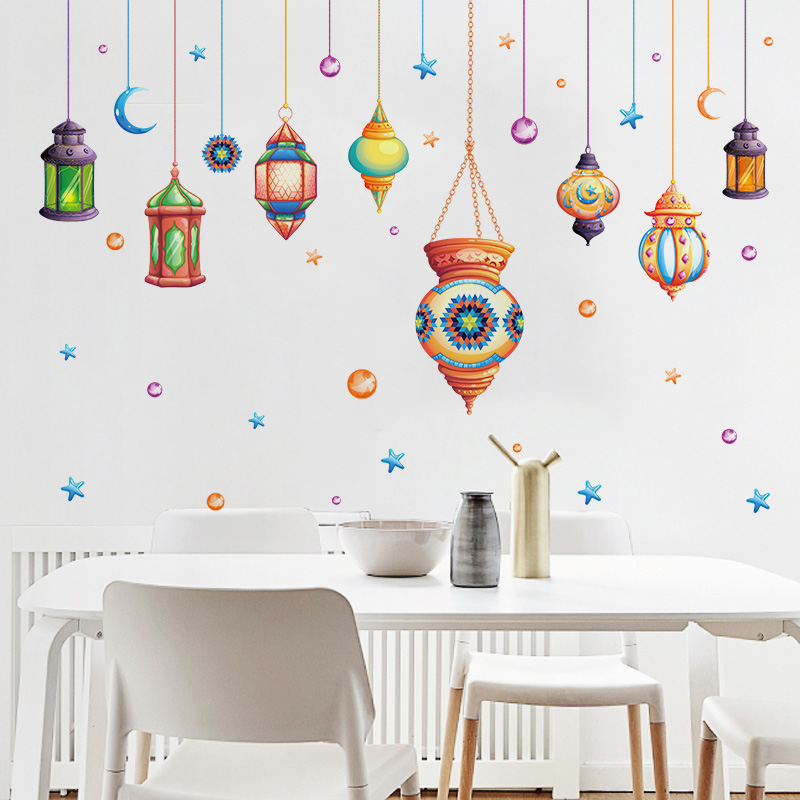 Cartoon Colorful Room: [Fundecor] Cartoon Colorful Chandelier Childeren Wall