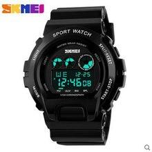 2016 модные мужские часы, хронограф многофункциональный наручные брендов Спортивный дизайн простой цифровой водонепроницаемый Часы Напольные часы