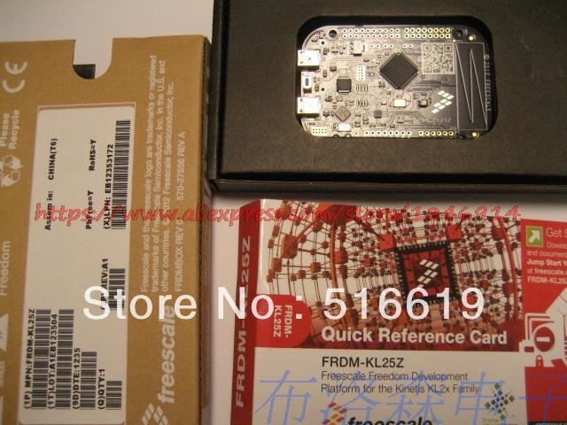Free Shipping FRDM-KL25Z  Development Board Sends The Spot Line CD Data