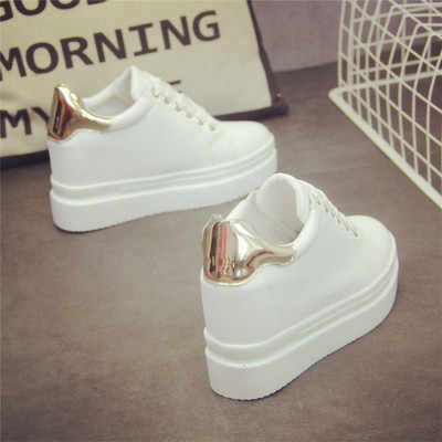 SWYIVY White Sneakers Shoes Female 2019