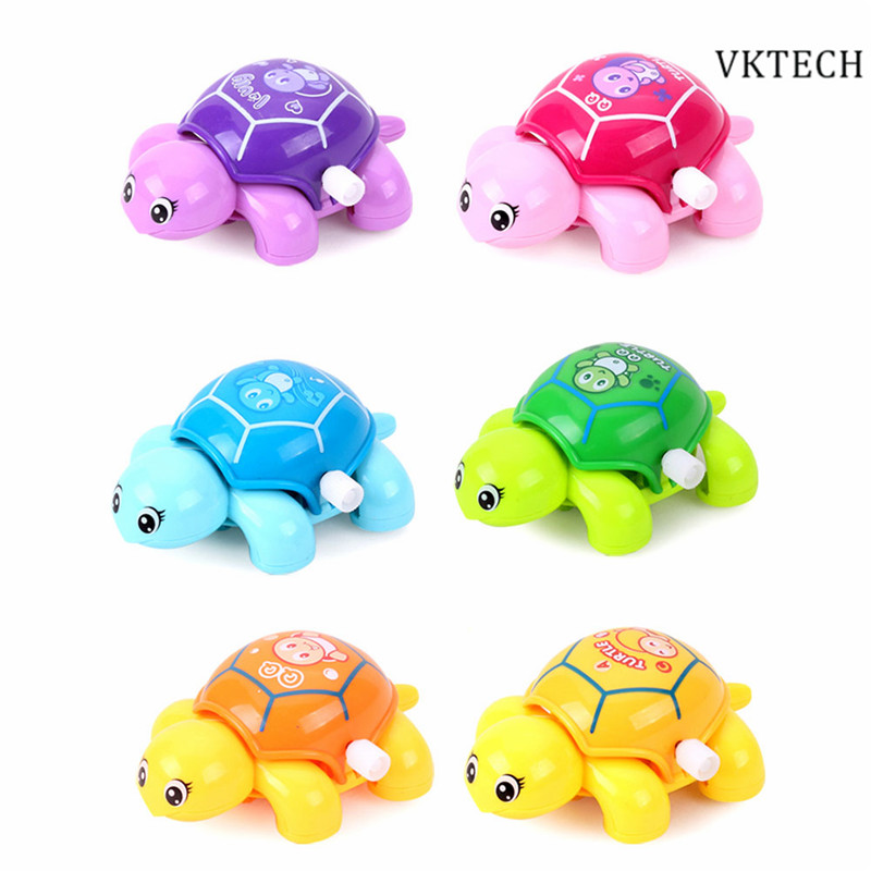 Toys For 6 And Up : Pcs mini clockwork toy baby tortoise children cute animal