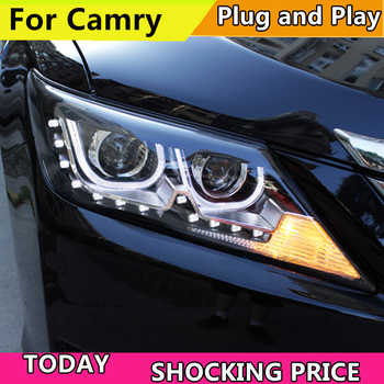 doxa doxa Car Styling Head Lamp Case For Toyota Camry V50 Headlights 2012-2014 LED Headlight DRL H7 HID Xenon Low Beam - DISCOUNT ITEM  20% OFF All Category