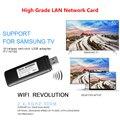 FV-N700 Беспроводной WLAN сетевой адаптер USB 2,0 сети ТВ карты 5 г 300 Мбит/с Wi-Fi Dongle для Samsung Smart tv wis12abgnx WIS09ABGN WIS12