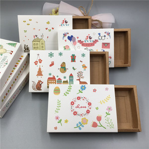 Image 3 - 30pcs Paper Drawer Type Package Box Wedding Party Favor Wrapping Paper Boxes For Candy/Handiraft/Cookie Gift Boxes