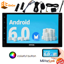 Car Stereo Android 6.0 in console Touch Screen Headunit non dvd none cd GPS Navigation Car Radio NO-DVD Player support Wifi OBD2