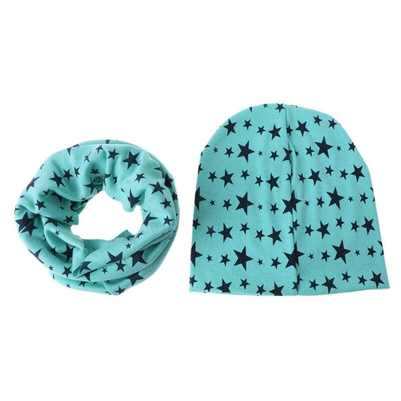 Jungen Kleidung Begeistert Thinkthendo Set Von Halstuch Hat Pentagram Schal Baby-säuglingskleinkind-winter-warme Junge Mädchen Gesundheit Effektiv StäRken