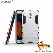 HATOLY For Meizu Pro 6 Plus Case 5.7 inch Robot Armor Hybrid Silicon Rubber Hard Back Phone Cover