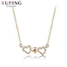 Xuping модное романтическое ожерелье в форме сердца для женщин День Святого Валентина ювелирные изделия подарок M54-40082