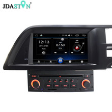 JDASTON 7 Inch 1 Din Quad Core 1G+16G Android 6.0 Car DVD Player GPS Navigation For Citroen C5 Multimedia Radio Canbus SWC USB