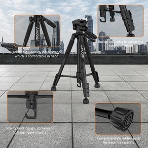 Image 3 - Штатив для фотоаппарата Andoer, штатив для фотосъемки, видеокамеры DSLR SLR с сумкой для переноски, зажим для телефона, аксессуары