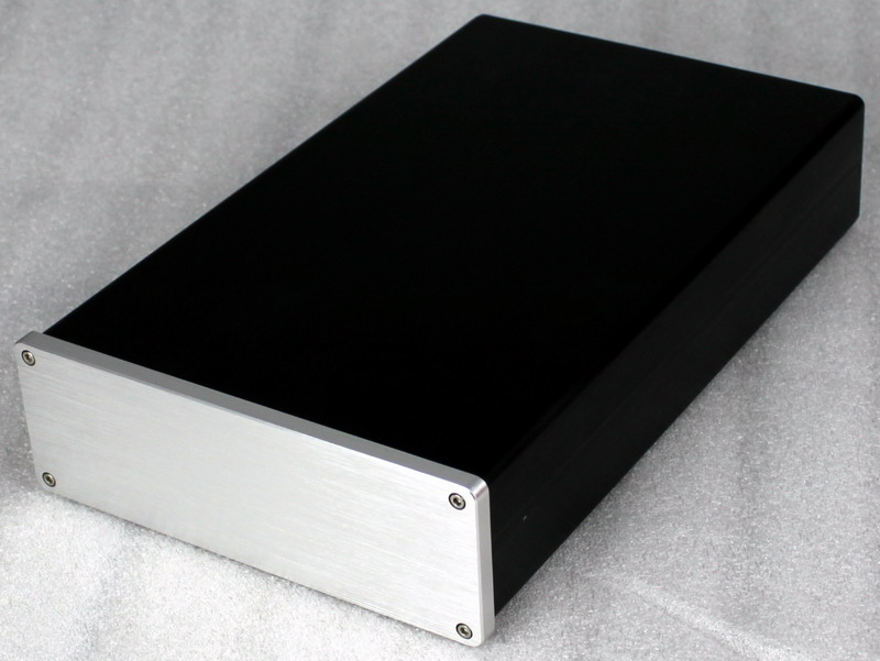 Free ship WA18 full Aluminum Preamplifier enclosure /DAC case/ amplifier chassis 4309 blank psu chassis full aluminum preamplifier enclosure amp box dac case