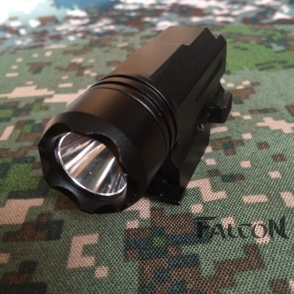 Gun Light 600LM CREE XP-G XPG R5 LED Waterproof Aluminum Tactical Flashlight Torch Suitable For 20 mm Picatinny Rail.