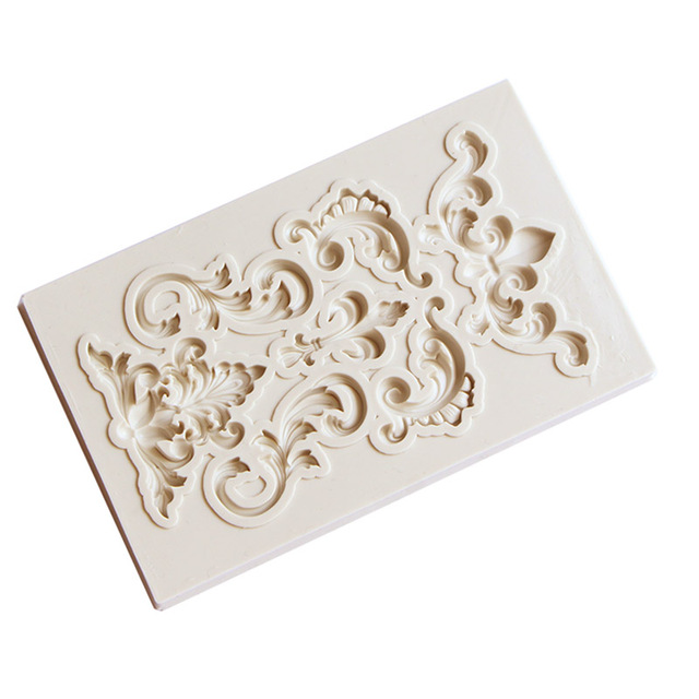 Yueyue Sugarcraft 1 piece Border silicone mold fondant mold cake decorating tools chocolate gumpaste mold  3
