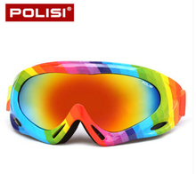 POLISI Invierno Niños gafas de Esquí Gafas de Snowboard Niños Muchachas de Los Muchachos de la Nieve Al Aire Libre Gafas de sol Gafas UV400 Anti-Vaho Moto de Nieve Esqui Gafas