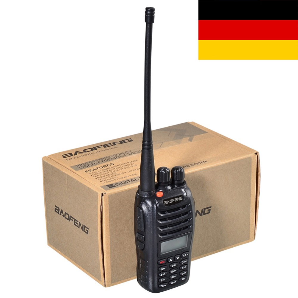 Brand New Black BaoFeng UV-B5 Dual Band Two Way Radio 136-174MHz&400-470 MHz Walkie Talkie With EU US RUSSIA STOCK+free Earpiece