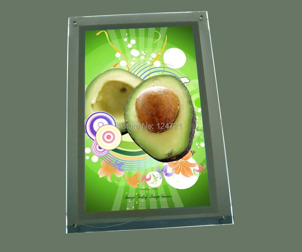 LED Slim Licht Box, Werbung Light Box, Acryl Kristalle Wand Menü ...