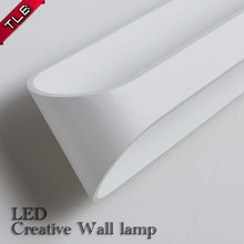 Creative LED wall lamp up down ARC shaped wall light 5W 10W 15W AC110v-260v for bedroom/corridor/living room