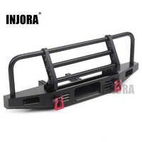 INJORA Einstellbare Metall Frontschürze für 1/10 RC Crawler Traxxas TRX4 Defender Axial SCX10 SCX10 II 90046 90047