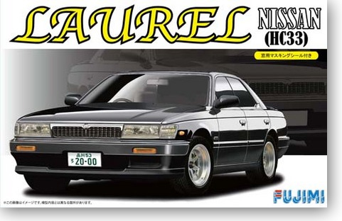 Nissan Laurel Nissan Crown Hc33 1/24 Car Model 03948