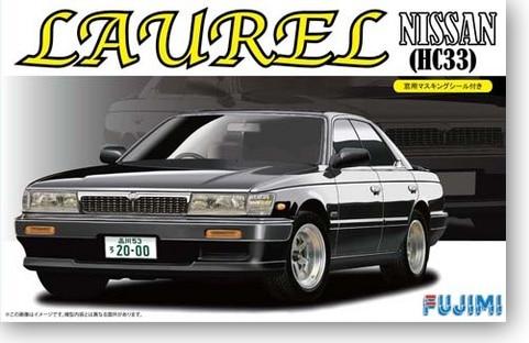 Nissan Laurel Nissan Crown Hc33 1/24 Car Model 03948