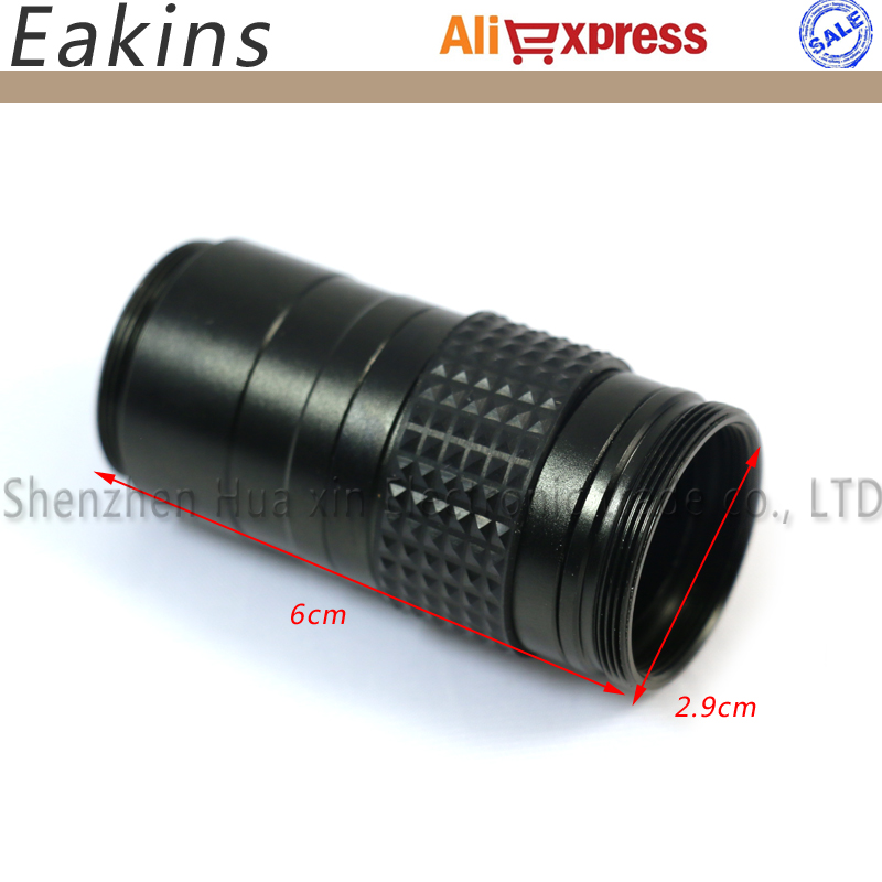 Free shipping mini microscope C-mount lens Adjustable Zoom Eyepiece Magnifier 1~100X Industry microscope camera use