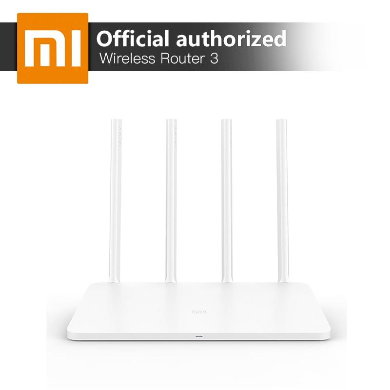 Xiaomi WiFi Routeur 3 Anglais Firmware Version 2.4G/5 GHz WiFi Répéteur 128 MB APP Wi-Fi 1167 Mbps