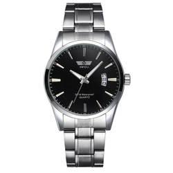 Роскошные часы Для мужчин Нержавеющаясталь наручные часы Бизнес часы Relógio masculino erkek коль saati orologio uomo