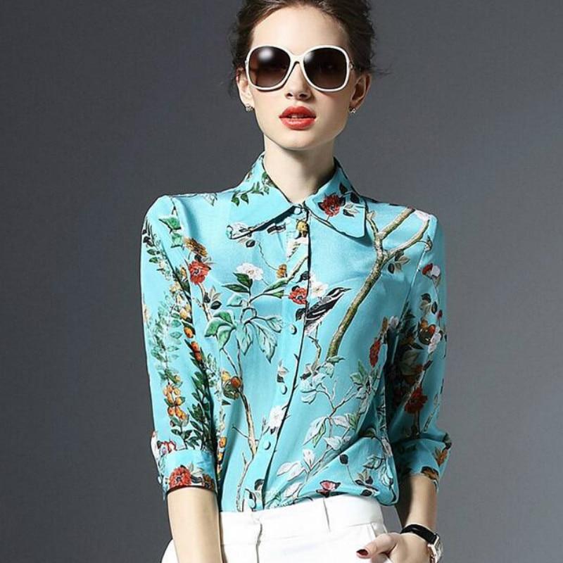 Popular Womens Silk Blouses Buy Cheap Womens Silk Blouses