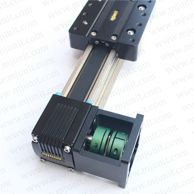 motorized Step Belt drive high Positioning linear stage linear actuator switch toothed belt drive motorized stepper motor precision linear application for industry