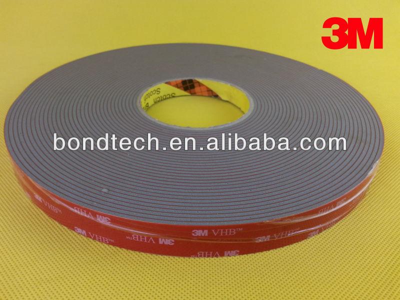 3M VHB tape 4991, 2.3mm, 40mmX16.5M 3m vhb tape 4926 gray 45mil 1inx36yd pack of 1