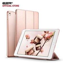Чехол для iPad Pro 10.5 дюйм(ов), ESR ура Цвет из искусственной кожи прозрачный PC задняя Ultra Slim Light Вес Trifold Смарт Чехол