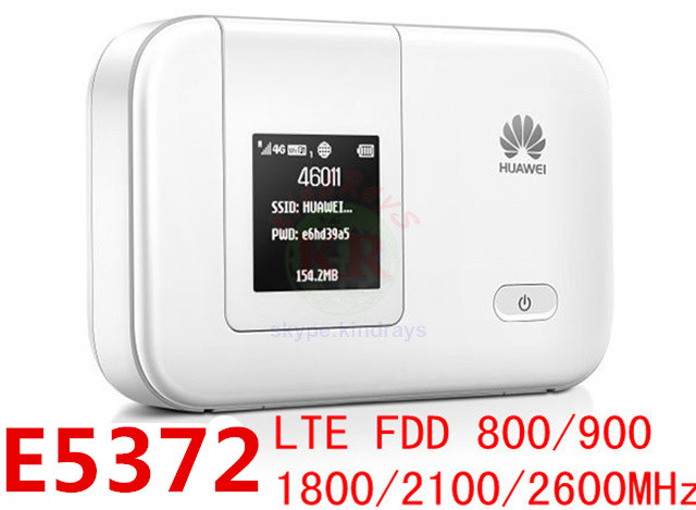 US $48 22 36% OFF|e5372s 32 Unlock 4G 150Mbps LTE 4g Pocket wifi Hotspot  HUAWEI mifi router wifi dongle fdd all band E5372 PK E5375 E5776 E589-in