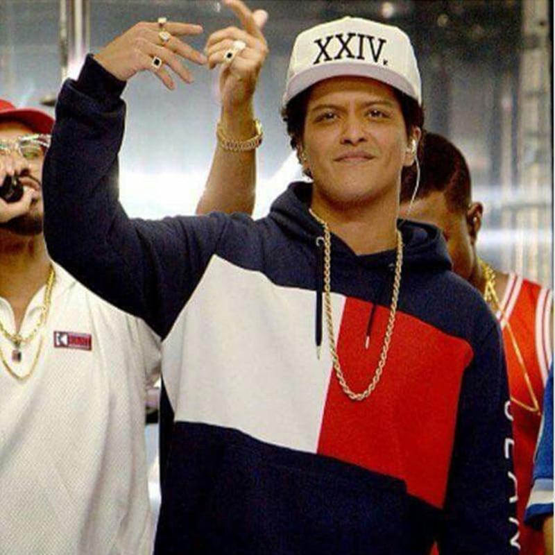 Unisex Bruno Mars Baseball Cap 24k Magic Gorras K pop Cotton Bone Rapper  XXIV Dad Hat Hip Hop Snapback Sun Caps Casquette-in Baseball Caps from  Apparel ... 18784fae30b