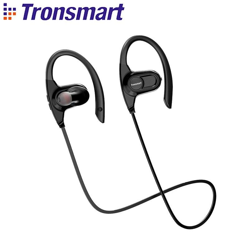 Tronsmart Hydra Bluetooth наушники IPX7 Waterpoof Беспроводной спортивные наушники 12 часов непрерывной работы HiFi Звук Шум отмена
