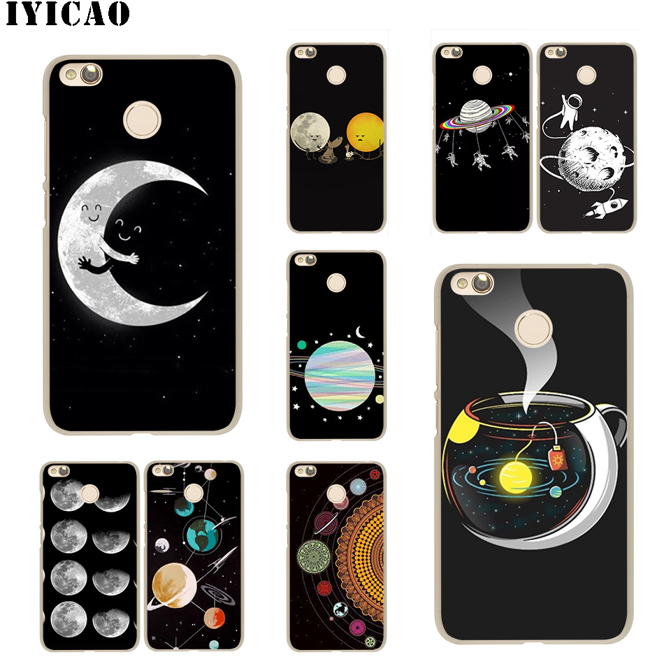 Cellphones & Telecommunications Supply Iyicao Cartoon Moon Stars Hard Case For Xiaomi Mi 9 8 Se A2 Lite A1 Pocophone F1 5x 5s 6 6x Mix 2s Max 3 Mia1 Mia2 Unequal In Performance