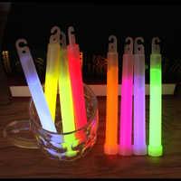 15 CM Industrie Grade Glow Sticks Partei Glowstick Chemische Fluoreszierende Halloween Hängen Decoraction Camping Notfall Lichter