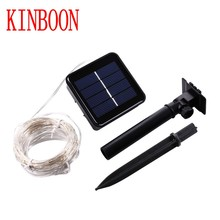 Solar Power String Light Waterproof LED Light 10M/20M LED Copper Wire
