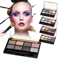 6 Style 8 Colors eyeshadow Palette Makeup set Eye Shadow Palette Beauty Super Flash Diamond Eyeshadow Glitter With Brush Y2
