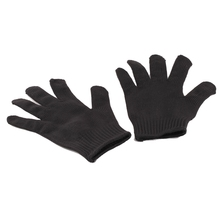 1Pair Glove Black Stainless Steel Wire Safety Works Anti-Slash Cut Glove Durable Slip-resistant Cheap And