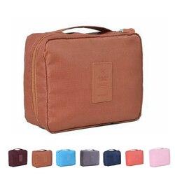 1pcs Storage Bag Waterproof Travel Cosmetic Bag Makeup Toiletry Case Wash Organizer Storage Pouch Bags
