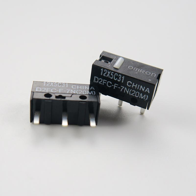 5 штук упак. оригинальная мышь Omron micro switch D2FC-F-7N 20M mouse button 20 million tiimes life