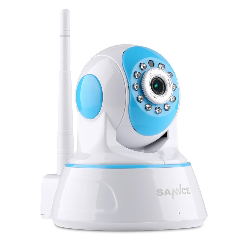 SANNCE 1080P Security WiFi IP Camera 2MP Wireless font b Network b font Camera CCTV Camera