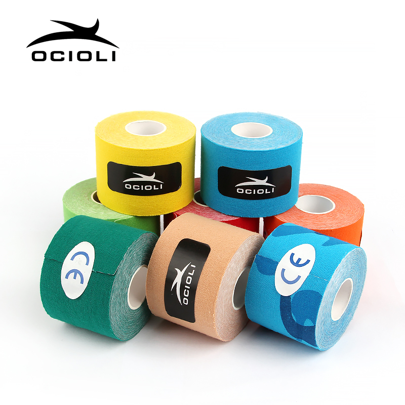 20 Rolls Good Quality Kinesiotape Athletic Tapes Kinesiology Tape Sport Taping Strapping Football Exercise Muscle Kinesiotaping