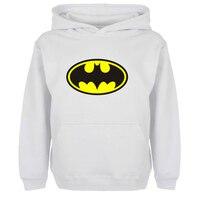 DC Superhero Bruce Wayne Batman Cartoon Hoodies Men Boy Women Girl Sweatshirt Off White Jackets Spring